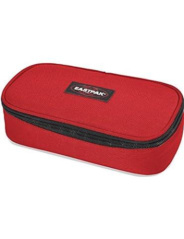 Eastpak »Oval XL« Schlampermäppchen Schlamperetui Federtasche Federmappe Apple Pick Red Rot