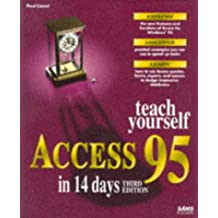 Sams Teach Yourself Access 95 in 14 Days