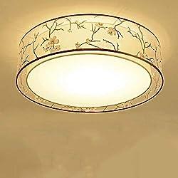 FuweiEncore Lichtkuppel Runde Sache Einfache Wohnzimmer Schlafzimmermöbel Vergangenheit Brände LED Lampen Lampen Moderne Chinesische Studie Stoff (Farbe: 70 * 20 cm) (Farbe : 70 * 20cm)