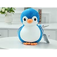 Deals India Blue Penguin Soft Toy, Cute Plush Kids Animal Toy- 25 cm, Blue