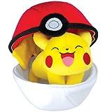 Pokemon T19363 - Tomy Pokéball Plüsch mit Reißverschluss - zum Spielen und Sammeln ab 3 Jahre (sortiert)