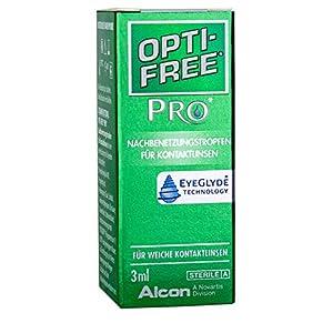 Opti-Free PRO Nachbenetzungstropfen für Kontaktlinsen, 10 ml