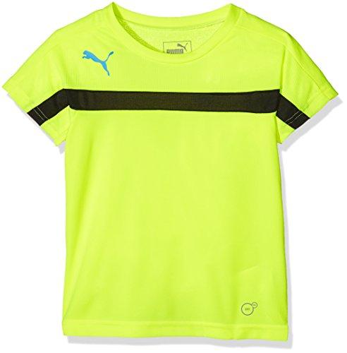 Puma Evotrg T-shirt d'entraînement pour enfant Jaune/noir - Safety Yellow-Black