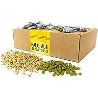 Eazy Brewing® Recambio para kit de elaboración de cerveza de 5 litros - Receta de cerveza rubia (Pale Ale) - Para preparar su propia cerveza artesanal – Instrucciones en Español