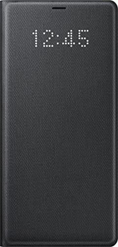 Samsung Mobile LED View Cover Custodia Compatibile con Samsung Galaxy Note 8, Nero