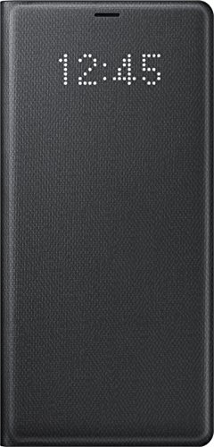 Samsung Note 8 Led View Cover - Funda para Samsung Galaxy Note 8, color negro- Version española