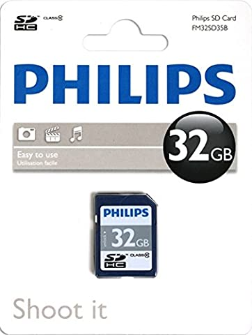 Philips SD-Karte Class 10 32 GB, SDHC