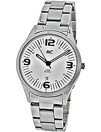 MC Timetrend Herren-Armbanduhr Edelstahl Analog Quarz 27706