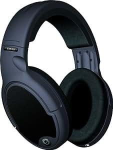 Goldring DR50 Headband Open Back Headphones, Wired, Black