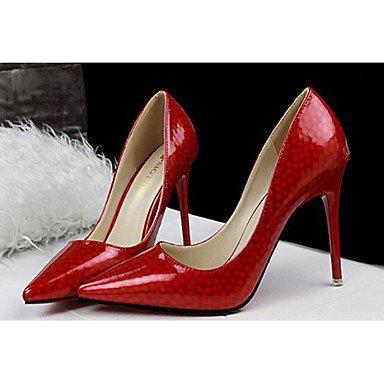 Moda Donna Sandali Sexy donna tacchi tacchi estate pu Casual Stiletto Heel altri rosa / rosso / grigio / fucsia / mandorla arancio / Altri almond