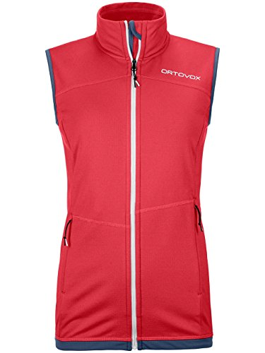 Ortovox Damen Fleece Light Weste, Hot Coral, XS (Coral-weste)