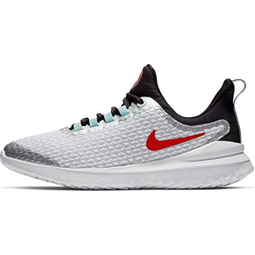 Nike Nike Renew Rival Sd Big Kids' Runni - pure platinum/team orange-black, Größe:3.5Y -