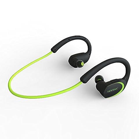 Bluetooth Kopfhörer, SainSonic R9 V4.1 Wireless-Sports HD Stereo-Ohrhörer , Leicht und wasserdicht für das Rennen, Eingebautes Mikrofon für iPhone, iPad, Macbook