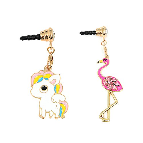 [2 Pieces] Dust Plug ,Mavis's Diary Cute Shinny Dust for sale  Delivered anywhere in UK