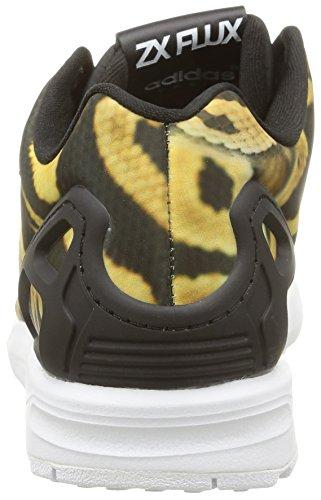 adidas Zx Flux, Baskets Basses Femme Noir (Core Black/Core Black/Ftwr White)