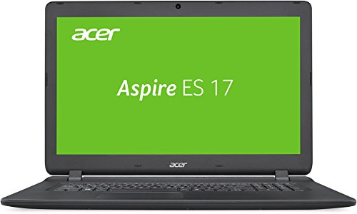 Acer Aspire ES 17 (ES1-732-P5BZ) 43,94 cm (17,3 Zoll) HD+ Notebook (Intel Pentium N4200, 8 GB RAM, 1000 GB HDD, Intel HD Graphics 500, Win 10 Home) schwarz Acer Laptop Ram