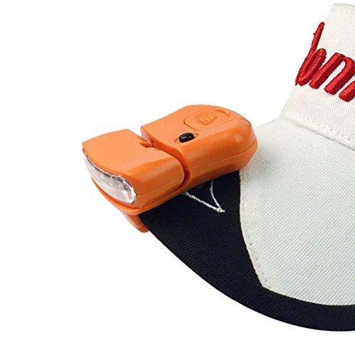 ALIKEEY 5Led Cap Hat Brim Clip LáMpara Head Faro Que Acampa Yendo...