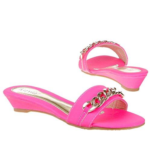 Isotoner, B721–2, Sandali Pink