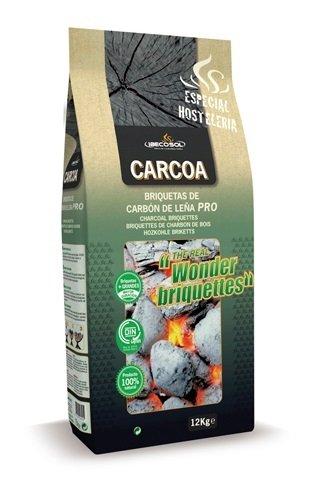 Carcoa�� Vegetal Charcoal Briquettes 71.5x28x14 cm Black