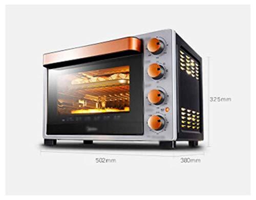 Pojrhfy Cocina Horno Horno Tostador Hogar Multifunción Horno eléctrico 32L Profesional Hornear Esmalte...