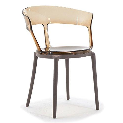 Guter Stuhl GUO Shop- Europäische Stuhl Transparente Sessel Esszimmerstuhl Einfache und kreative Designer Schreibtisch Stühle Restaurant, Wohnzimmer