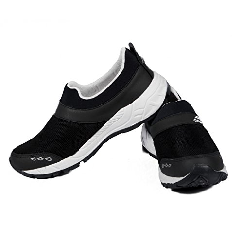 ASIAN Shoes Men's Black Running Shoes - 9 UK