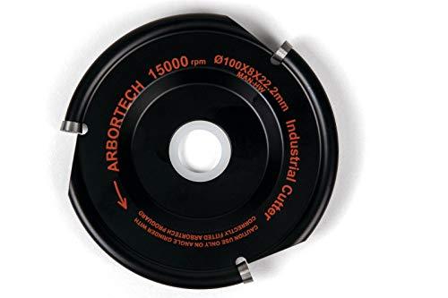 Arbortech Industrial Woodcarver Blade Frässcheibe IND.FG.100 für Winkelschleifer