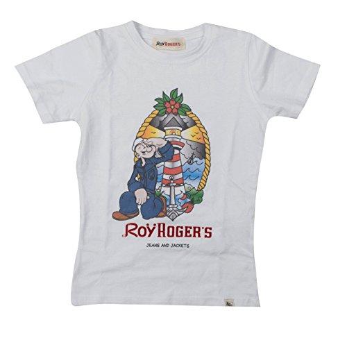 Roy-Rogers-T-Shirt-Bianca-Stampa-Popeye