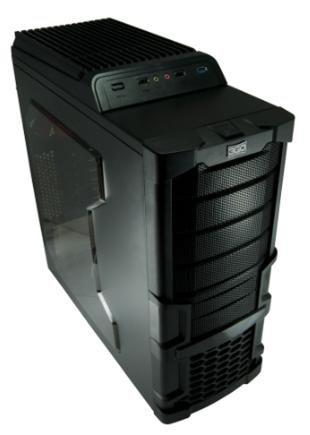 3GO Demolition–PC-Gehäuse (aus Plastik, SPCC, 1x 120mm, 120mm, 1x 120mm, 185mm, 415mm) schwarz, rot Preis