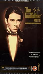 The Godfather: Part II [VHS]
