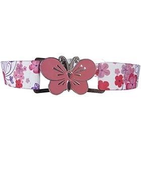 Cintura Elasticizzata per Bambina 1-11 Anni, Grande Fibbia