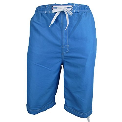 Location Mens Long 3/4 Length Knee Short Summer Woven OTK Swim Shorts Swimming