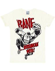 Batman - Camiseta Bane - Estilo Retro - M