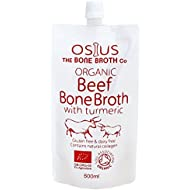 """**NEW** Osius Organic Beef Bone Broth with Turmeric 