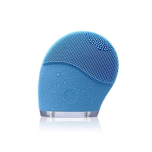 Liyao Gesichtsreinigungsbürste für alle Hauttypen, wasserdichter elektrischer Hautreiniger-Gesichtsmassagegerät Wäscher (Kommerzielle Wäscher)