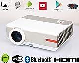 Best Lámparas de escritorio 3M - WIFI Proyector Android 1080P Full HD 5000 Lumen Review