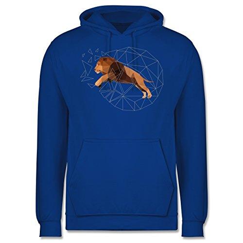 Sonstige Tiere - Freiheit Löwe - Männer Premium Kapuzenpullover / Hoodie Royalblau