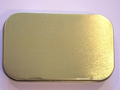 Tobacco Tins (Gold 50ml)