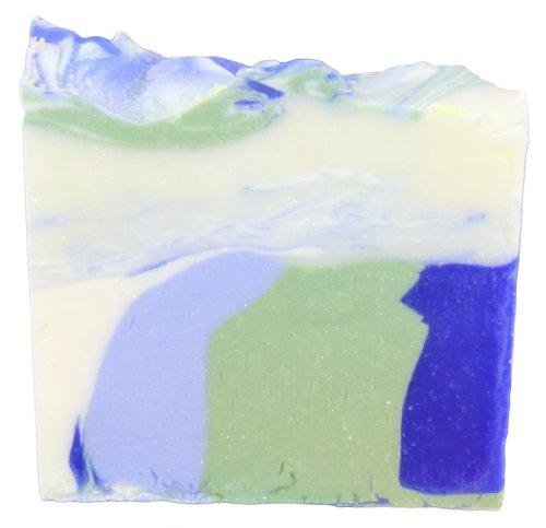 Greendoor Handgesiedete Naturseife Ozean, Seife vegan 100g aus der Naturkosmetik Manufaktur