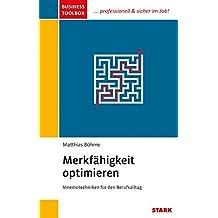 "Matthias Böhme: Business Toolbox ""Merkfähigkeit optimieren"""