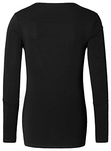 Noppies Damen Langarmshirt Schwarz (black C270)