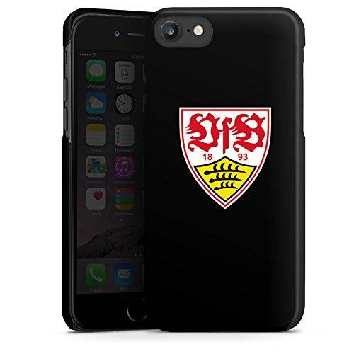 Apple iPhone 7 Hülle Case Handyhülle VfB Stuttgart Fanartikel 1893 Fußball Hard Case schwarz