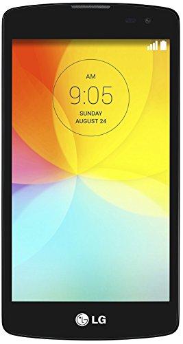 LG L Fino Smartphone (11,4 cm (4,5 Zoll) IPS-Display, 1,2-GHz-Quad-Core-Prozessor, 8-Megapixel-Kamera, Micro-SIM, 4 GB interner Speicher, Android 4.4) schwarz