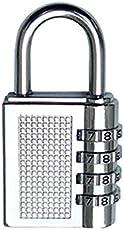 Tiny Deal Cute 4-Digit Safe PIN Hand Bag Shaped Combination Padlock Lock (Color May Vary).