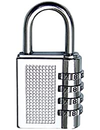 Tiny Deal Cute 4-Digit Safe PIN Hand Bag Shaped Combination Padlock Lock (Color May Vary).