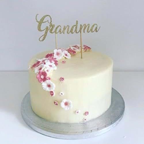 Grandma Birthday Cake Decoration Topper Party Decorations