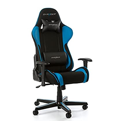 DX Racer Oh/FL11/NB Asiento Gaming Negro/Azul
