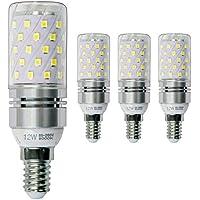 Hzsane E14 LED maíz bombilla 12W, 6000K Blanco Frío LED Bombillas, 100W Incandescente Bombillas