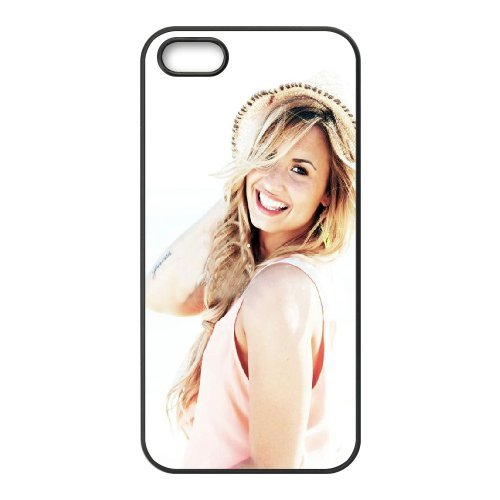 LP-LG Phone Case Of Demi Lovato For iPhone 5,5S [Pattern-6] Pattern-2