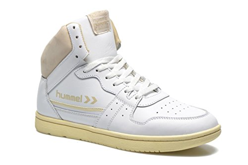 newest collection 38660 d76ce HUMMEL GLOBETROTTER VINTAGE HI. SCARPE SPORTIVE PER UOMO E DONNA White  Enchufe De Fábrica De